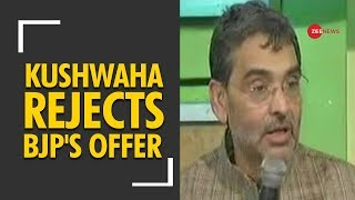 Upendra Kushwaha rejects BJP's offer; Sets ultimatum - ZEENEWS