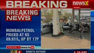 Petrol & Diesel prices in Delhi are Rs.82.61 per litre & Rs.73.97 per litre - NEWSXLIVE