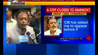 TMC general secretary Mukul Roy to appear for CBI questioning - NEWSXLIVE