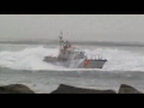 Coast Guard hazardous seas Humboldt Bay
