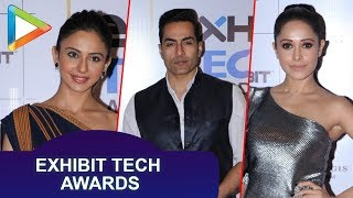 Celebs SPOTTED at Red Carpet Event of Exhibit Tech Awards - HUNGAMA