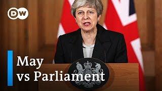 Brexit: May antagonizes UK Parliament with public address | DW News - DEUTSCHEWELLEENGLISH