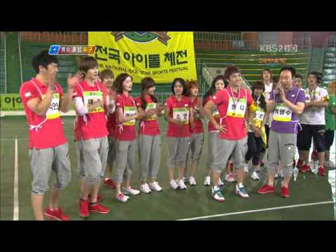 [110507] 100 Points Out Of 100 National Idol Star Sports Festival Special Episode 24 5/5