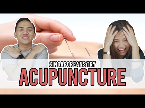 Singaporeans Try: Acupuncture | EP 87