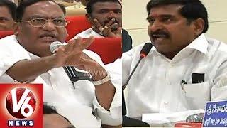 War between Jagadish Reddy and Gutta Sukhender Reddy on Nakkalagandi Project - V6NEWSTELUGU