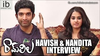 Havish & Nandita interview about Ram Leela success - idlebrain.com - IDLEBRAINLIVE