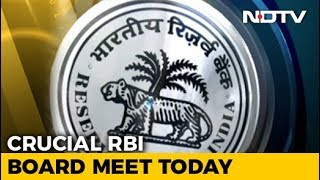 Will RBI-Centre Conflict End? All Eyes On Board Meet Today - NDTVPROFIT