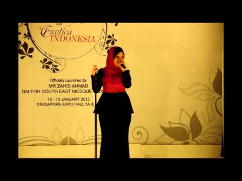 Najwa Latif Live at Singapore EXPO