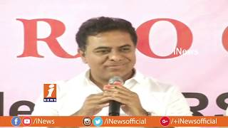 KTR Meet The Press at Somajiguda Press Club | After TRS Winning in Telangana Elections | iNews - INEWS
