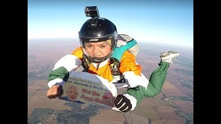 Narendra Modi birthday: This woman wished PM from 13,000 feet - TIMESOFINDIACHANNEL