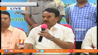 Minister Jupally Krishna Rao Address To Media On Panchayat elections In Telangana | iNews - INEWS