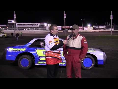 Jerry Gifford Stock car Feature winner 04/19/14