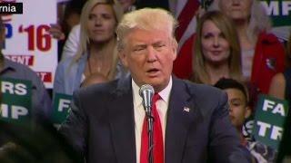 Trump: I will solve California drought - CNN