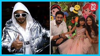 Ranveer Refuses To Comment On 'Padmavati' Controversy | Bachchan Family Hosts A Party For Aaradhya - ZOOMDEKHO