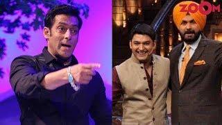 Salman Khan behind Navjot Singh Sidhu's exit from 'The Kapil Sharma Show'? - ZOOMDEKHO