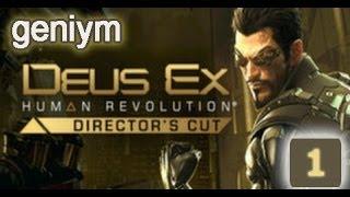 Стелс прохождение Deus Ex: Human Revolution - Director's Cut. (без убийств). Часть 1.