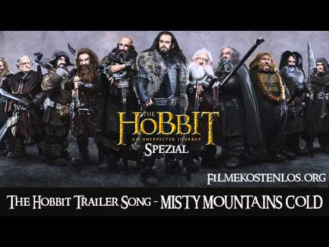 The Hobbit Trailer Song - Misty Mountains Cold -Z9OYpxXEgi4