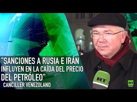 """""""Las sanciones a Rusia e Irán influyen en la caída del precio del petróleo"""""""