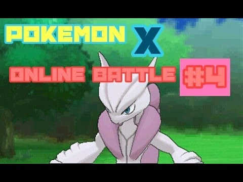 Pokemon X: Online Battle #4
