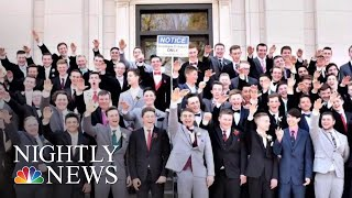 Photographer Behind Photo Appearing To Show Students Giving Nazi Salute Speaks | NBC Nightly News - NBCNEWS
