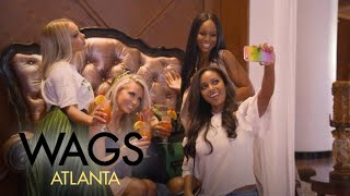"""WAGS Atlanta"" Stars Kick Off Girls Trip in New Orleans 