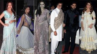 Amitabh Bachchan, Jacqueline Fernandez and other Bollywood stars at Tulsi Kumar's wedding reception