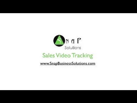 sales video tracking