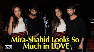Mira-Shahid Looks So Much in LOVE | Paparazzi go gaga - IANSINDIA