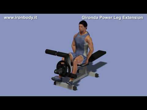 Vince Gironda Power Leg Extension