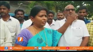 TDP and YCP Cadre Clash In Dwajasthambam Installation at Chikkala Village | West Godavari | iNews - INEWS