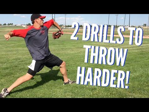2 Drills to Throw Harder - Baseball Throwing Drills!