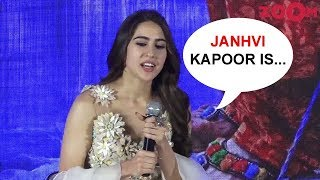 Sara Ali Khan on her face off with Janhvi Kapoor for Best Debutant of the year - ZOOMDEKHO