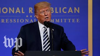 Trump: 'No reason' for GOP to lose midterms - WASHINGTONPOST