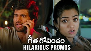 Geetha Govindam Hilarious Comedy Promos | Vijay Devarakonda | Rashmika | TFPC - TFPC
