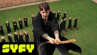 Harry Potter | Creating The Magic - Broom Broom! | SYFY - SYFY