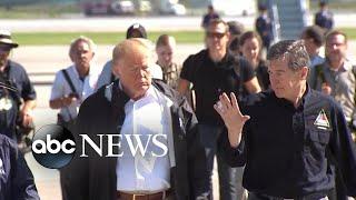 Trump visits Carolinas after Hurricane Florence - ABCNEWS