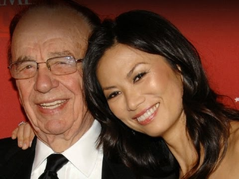 Murdoch splits with wife, splits up company