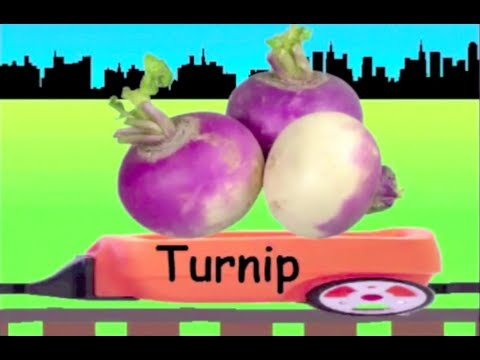 Learn Vegetable Train (New) - learning for kids