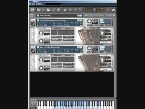 Best Service Accordion Sample Library Tutorial Video - Accordion both hands expression bellows