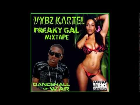 Vybz Kartel - Freaky Gal Mixtape 2012
