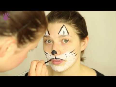 Malowanie buziek, Malowanie twarzy # 7 - Kot