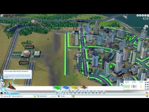 Lets Play - SIMCITY EP 2 - Destroying half my city again