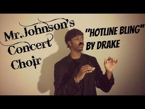 Mr.Johnson concert choir performs