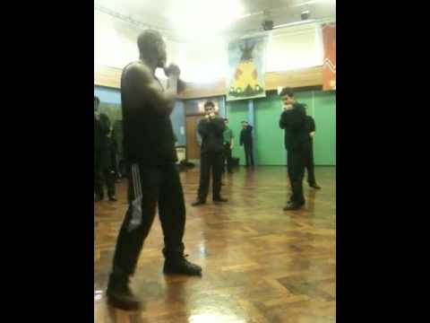 Errol Christie at Rush Croft school part 2