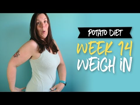 Potato Diet Week 14 Weigh In   |  Why I'm Eating Fruit, Rice, Etc.