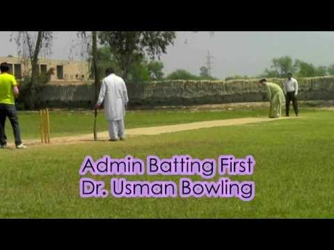 Admin Vs Faculty Cricket Match BZU college of textile Engineering 2014