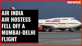 AIR India air hostess fell off a Mumbai-Delhi flight while boarding the aircraft at Mumbai airport - NEWSXLIVE