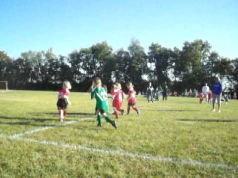 Katie Scores a Goal 2010 9 18