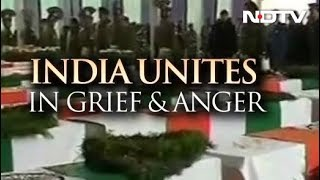 Pulwama Attack: India Unites In Grief And Anger - NDTV