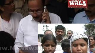 Telangana Dy. CM Mahmood Ali in a meeting with Jedimetla residents for houses demolition issue - THENEWSWALA